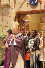 A portal to God's mercy and love: Bishop opens Holy Door in observance of Jubilee Year of Mercy