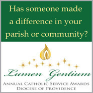 Lumen Gentium Award nominations close Friday, February 12th