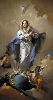 December 8th The Solemnity of the Immaculate Conception of the Blessed Virgin Mary