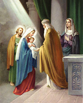 February 2nd Feast of the Presentation of the Lord
