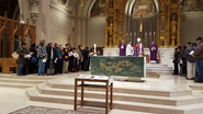 Catechumens, candidates prepare to be received fully into the Church at Easter