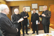 Archbishop Blair in Providence for Pastoral Visit