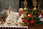 New Year calls for courage, hope; no more hatred, selfishness, pope says