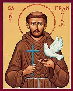 October 4th The Feast of St. Francis