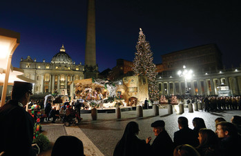 Vatican Nativity scene to highlight works of mercy