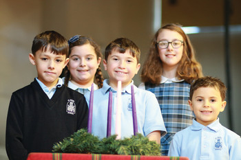 Advent Devotions at St. Mary's School