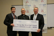 Bishop Tobin accepted check for $80,000 from National Grid Foundation