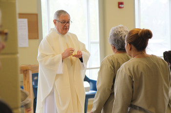 Meeting the spiritual need at the state women's prison
