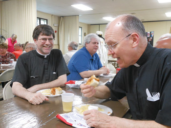 Woonsocket Knights of Columbus serving up a spicy sandwich for a good cause