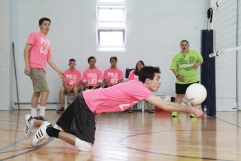 Youth Ministry Athletes Showcase Talents at Mini Volleyball League