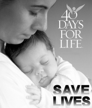 40 Days for Life Campaign - Kick-Off Rally