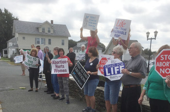 Respect Life Month began with Life Chain vigils throughout diocese and U.S.