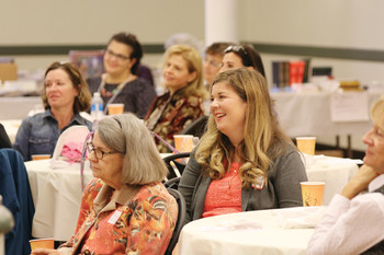 Diocesan women's conference a day of inspiration, humor, fellowship