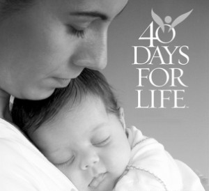 40 Days for Life Fall Campaign