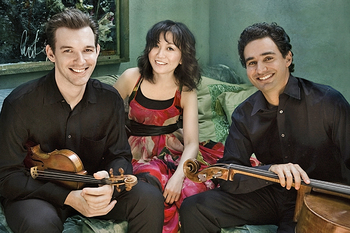 April 25th - The Horszowski Trio with Masumi Rostad