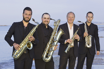 Thu., March 28th - The Italian Saxophone Quartet
