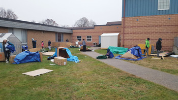 School 'Sleep Out' gives students glimpse into homelessness, teaches empathy