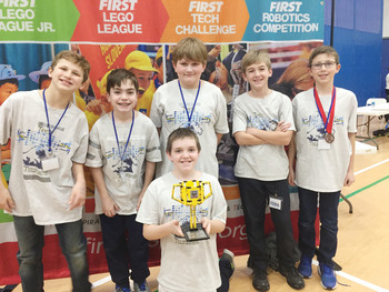 OLM Robotics Team Wins Top Programming Award