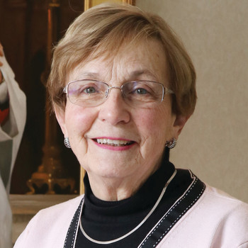 Nadeau enjoys serving her vibrant parish family