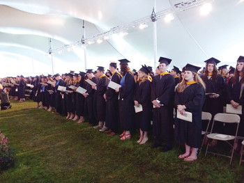 Salve grads called to live lives of devotion and integrity