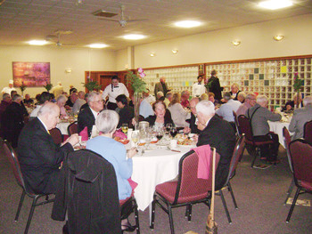 Christian Brothers celebrate Founders Day with prayer, fellowship