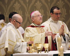 Two seminarians ordained as transitional deacons