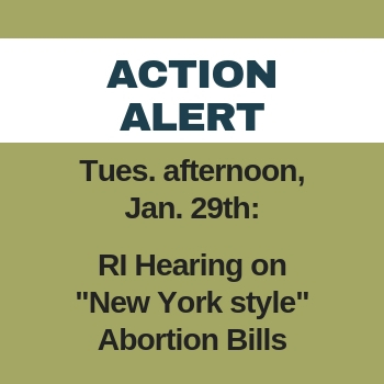 Pro-Life Action Alert: immediate action is critical