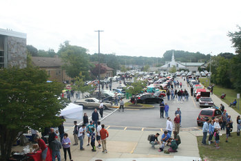 Car Show draws a crowd for Father John V. Doyle School
