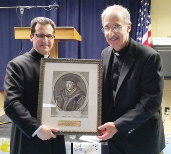Father Ray Suriani honored with St. Thomas More Defender of the Faith Pro-Life Award