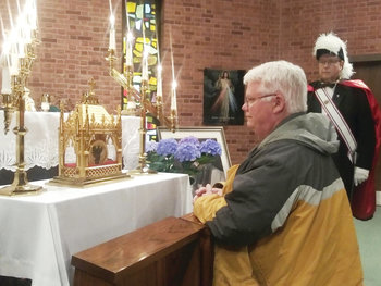 Blessed Relic: St. John Vianney Heart Visits Our Lady of Providence Seminary