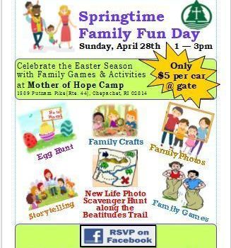 Mother of Hope Camp Springtime Family Fun Day