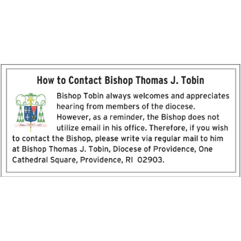 How to Contact Bishop Tobin