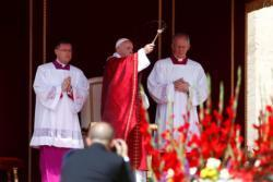 Holy Spirit 'brings order to our frenzy,' pope says