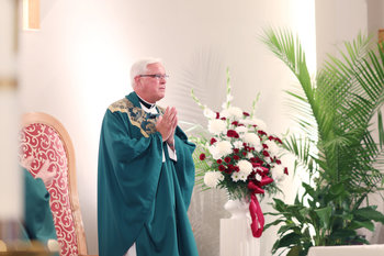 Msgr. Darcy celebrates 40th anniversary of ordination with St. Margaret Parish family