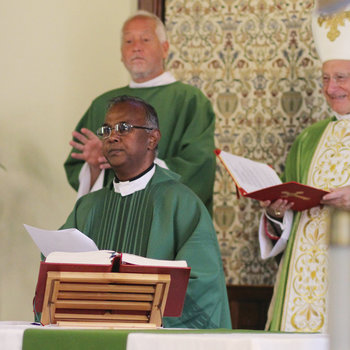 Father Chinnaiah Yerrnini installed as pastor of St. Joseph Church
