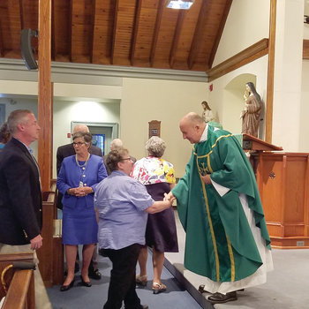 Pastoral Installation of Father Peter D'Ambrosia