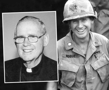 Bishop Francis X. Roque Remembered as 'an Officer and a Gentleman'