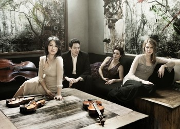 TOMORROW NIGHT IN MCVINNEY! Daedalus Quartet Quartet