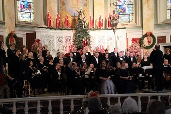 Rhode Island Civic Chorale & Orchestra's perform Handel's