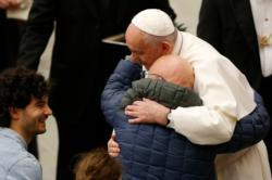 Life's trials train Christians to be sensitive to others, pope says