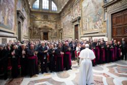 Church must recognize the gifts of older Catholics, pope says
