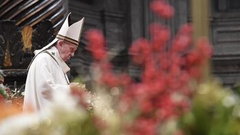 Pope's calendar for Christmas celebrations