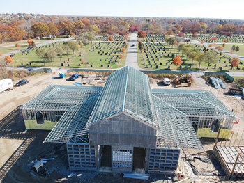 Parishes offered incentives to promote sales at Saints Peter and Paul Mausoleum