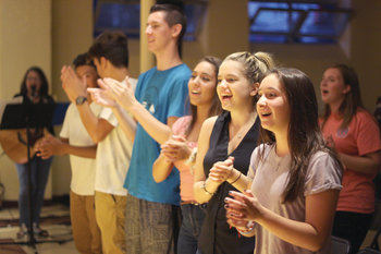 Helping youth discover who God is calling them to be