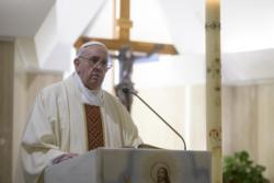As lockdowns end, pope prays for prudence in behavior, judging others
