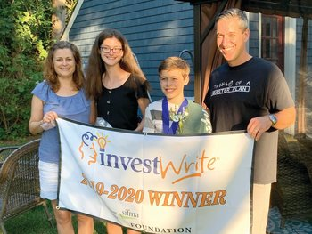 Middle schooler's award-winning financial plan wows Wall Street