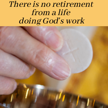 Sept. 19 & 20 The Senior Priest Retirement Fund