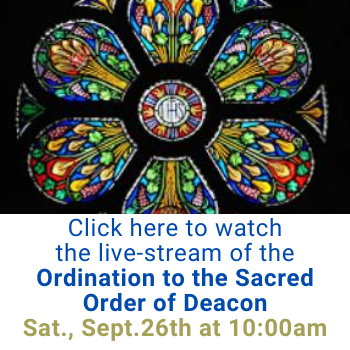 Ordination to the Sacred Order of Deacon of Mr. Daniel M. Mahoney and Mr. Doan V. Nguyen