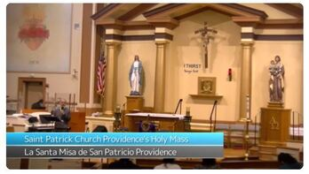 ASL Interpreted Masses for Holy Week and Easter at St. Patrick Church, Providence