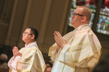 Two to be ordained to the priesthood on June 5
